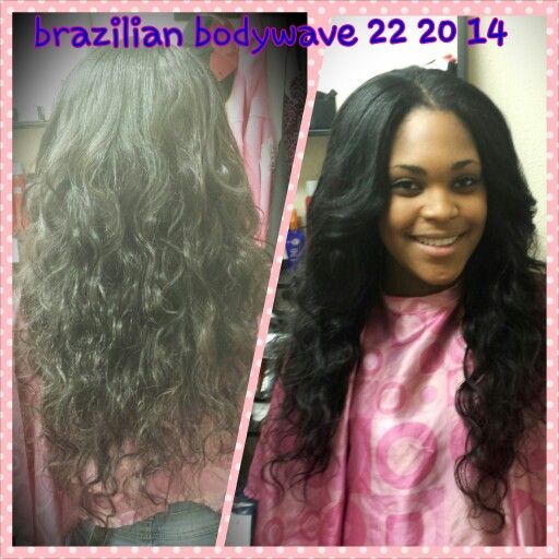 virgin brazilian bodywave sew in extensions pinterest