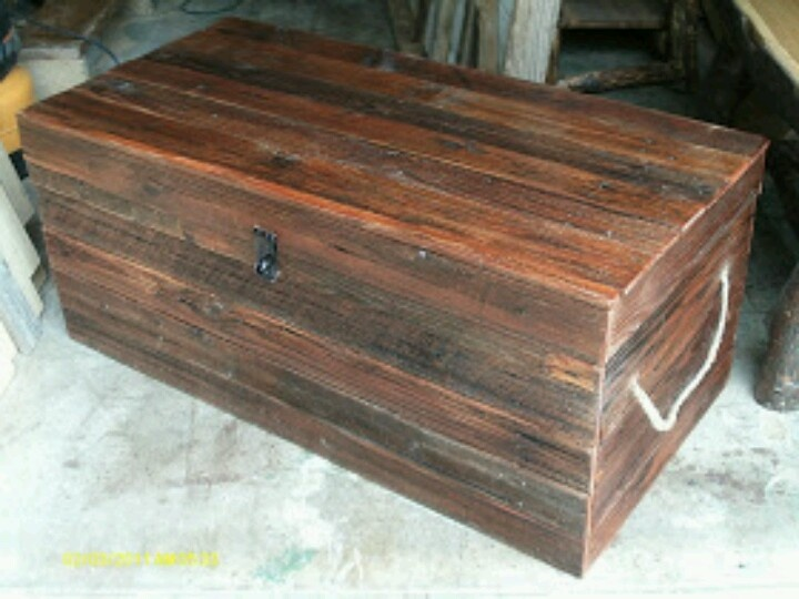 Reclaimed pallet chest/trunk $225 - 179 Best Images About Chests On Pinterest Blanket Chest, Wood