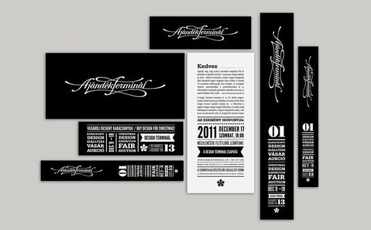 Hungary graphic design. The contrast between the type and background is powerful with the selected typeface and weight values, allowing the type to remain legible and not get lost.