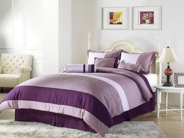 sweet lavender themed bedroom for your inspiration for