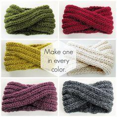 Infinity Headband Knitting Pattern Ear Warmer by KnitsForLife