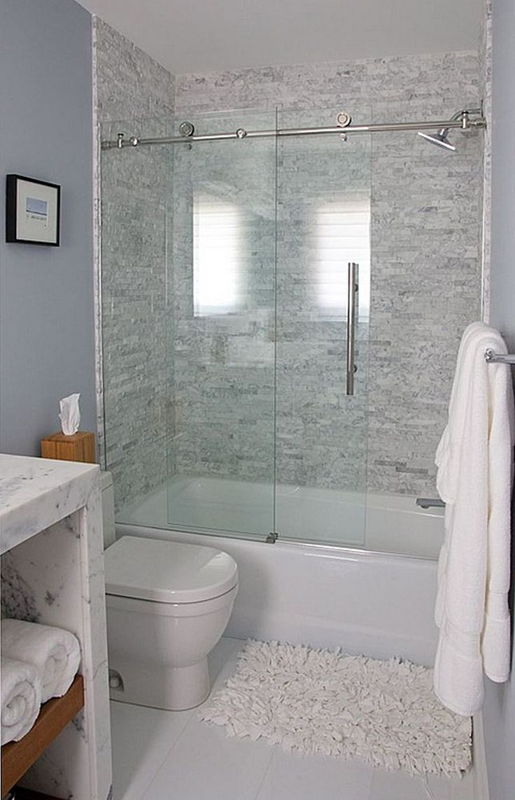 65+ Small Bathroom Remodel Ideas for Washing in Style. Glass Bathtub DoorBathtub  Shower ...