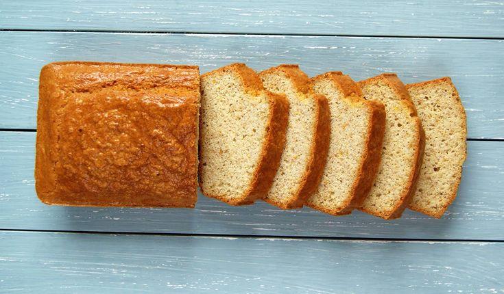 Almond & Organic Whey Protein Bread   The Organic Protein Company