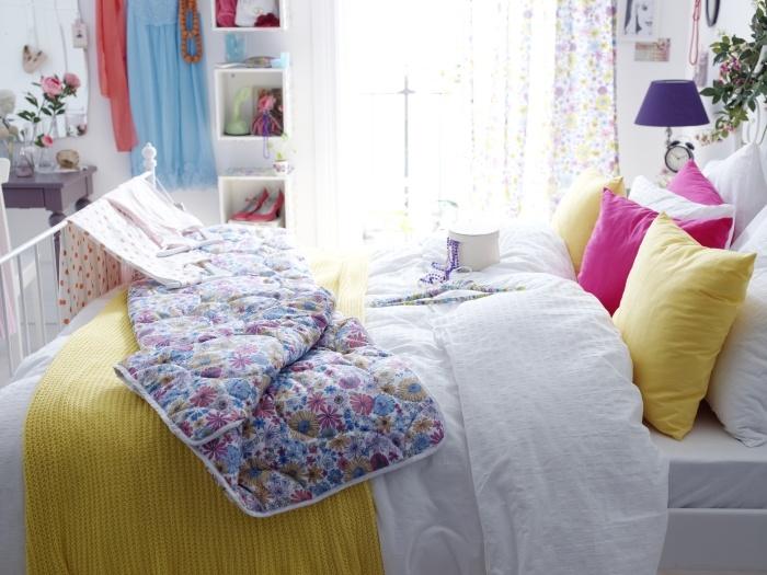 Τα χρώματα είναι ευπρόσδεκτα στο υπνοδωμάτιό μας –κάνουν το ξύπνημα πιο χαρούμενο!