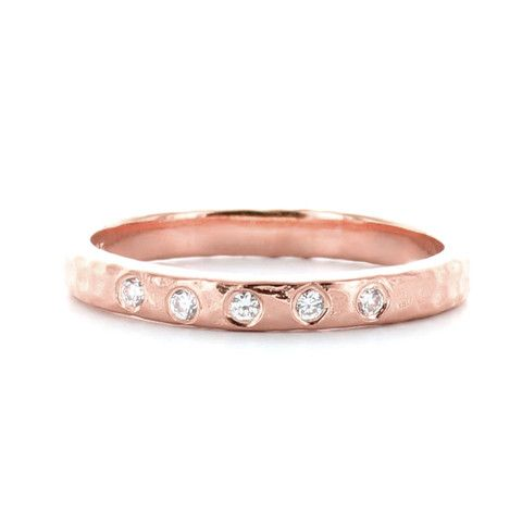 ENDEAR STACKING RING & PENDANT ROSE GOLD – So Pretty Cara Cotter