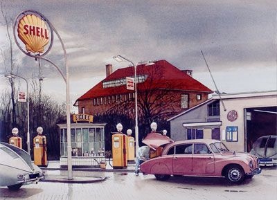 """Shell Station - Tatra dealer"""