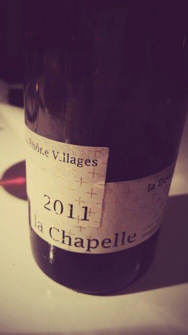 Très bon ! ! ! Domaine de la deuxième Tour - Vaison la Romaine - CHAPELLE 2011  - Vigneron  : Jean Luc BERNARD - vin naturel  ☆☆☆☆☆