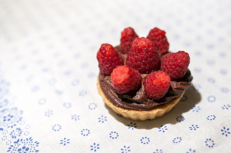 Tartelettes au chocolat--Čokoládové tartaletky--Chocolate tartlets