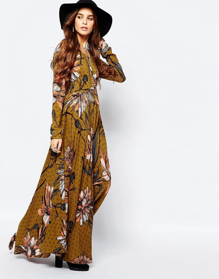 Free People First Kiss Maxi Dress In Large Floral Print $207.04