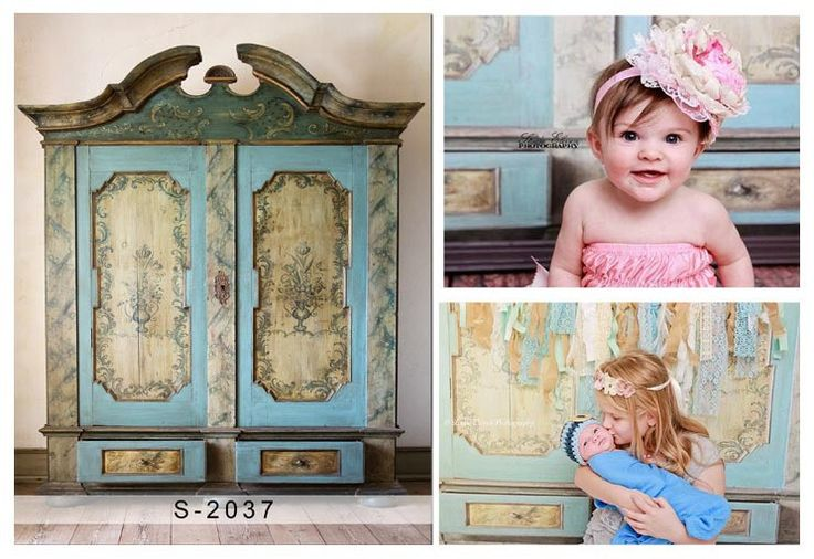 Photography Backdrops Backgrounds For Photo Studio Fotografico Blue Wooden Door CMS-2037