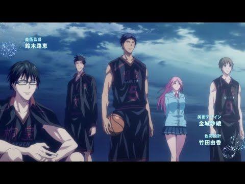 OPENING & ENDING Kuroko's Basketball SEASON 3 [HD OFFICIAL]