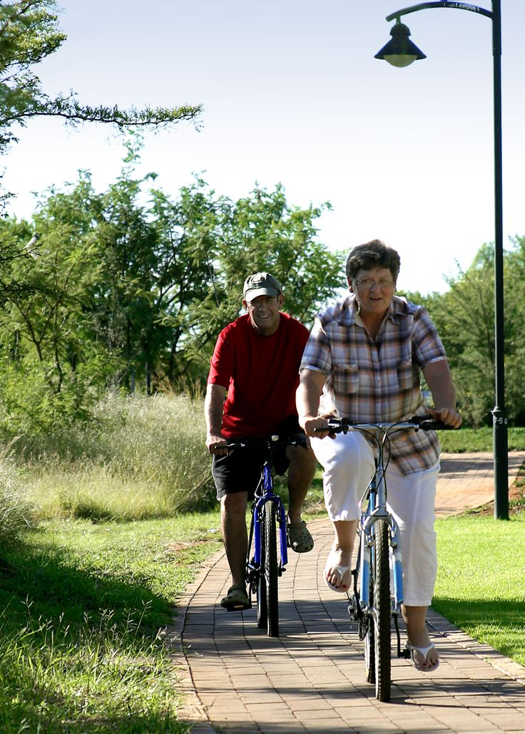 One of the many parks and foot paths available to residents and visitors of Midstream Estate to enjoy. For more information visit www.midrand-estates.co.za
