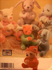 Never opened Simplicity pattern for adorable animals.  http://barbspencerdolls.com/patterns/  See other patterns for dolls, teddy bears, clothing for dolls and teddy bears, Christmas and other holiday patterns.... Reasonably priced.  http://barbspencerdolls.com/patterns/