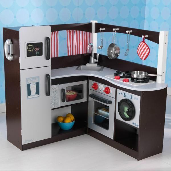 25+ best ideas about kidkraft wooden kitchen on pinterest | wooden ... - Kidkraft Espresso Küche