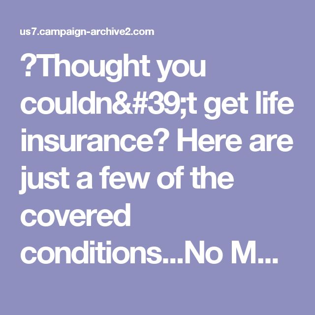 25+ Best Ideas About No Medical Life Insurance On