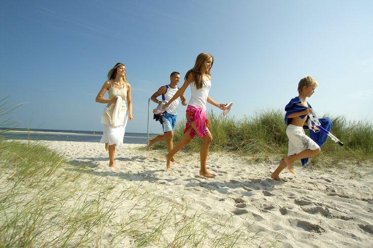 In Denemarken heb je hele fijne stranden, waar je heerlijk kunt ontspannen met de hele familie.