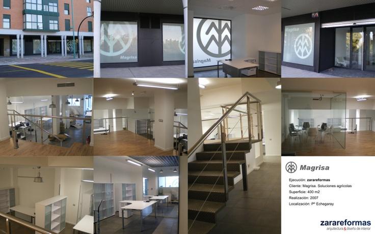 10 best oficinas reformadas por zarareformas images on for Oficinas bantierra zaragoza