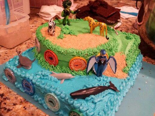 Wild Kratts birthday cake for Mr. Isaac