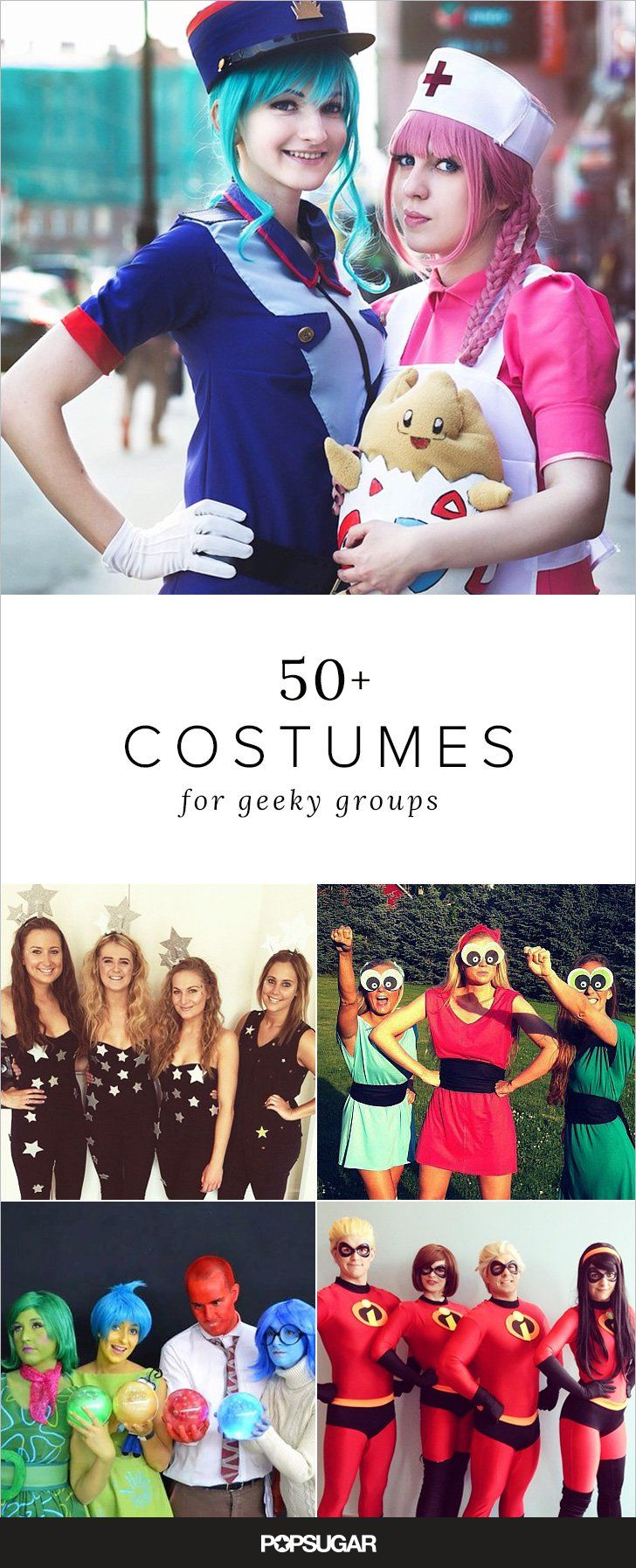Pin for Later: 58 Epic Costumes For Geeky Groups
