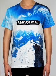 #pray #for #paris #shirt #logo