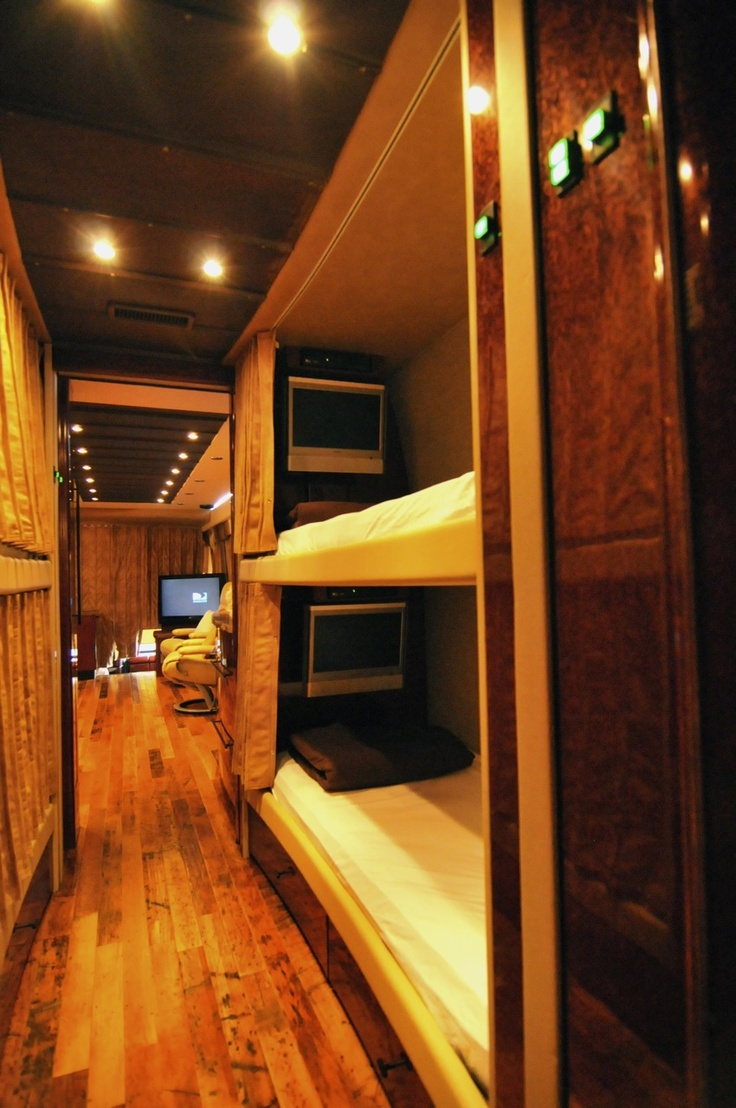 One direction tour bus interior - Bunks Tour Bus Interiorluxury