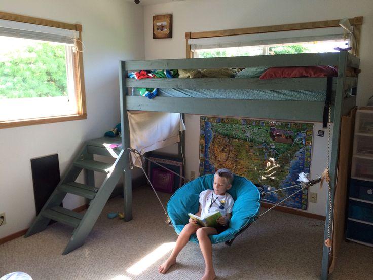 26 Best Loft Beds Images On Pinterest Child Room