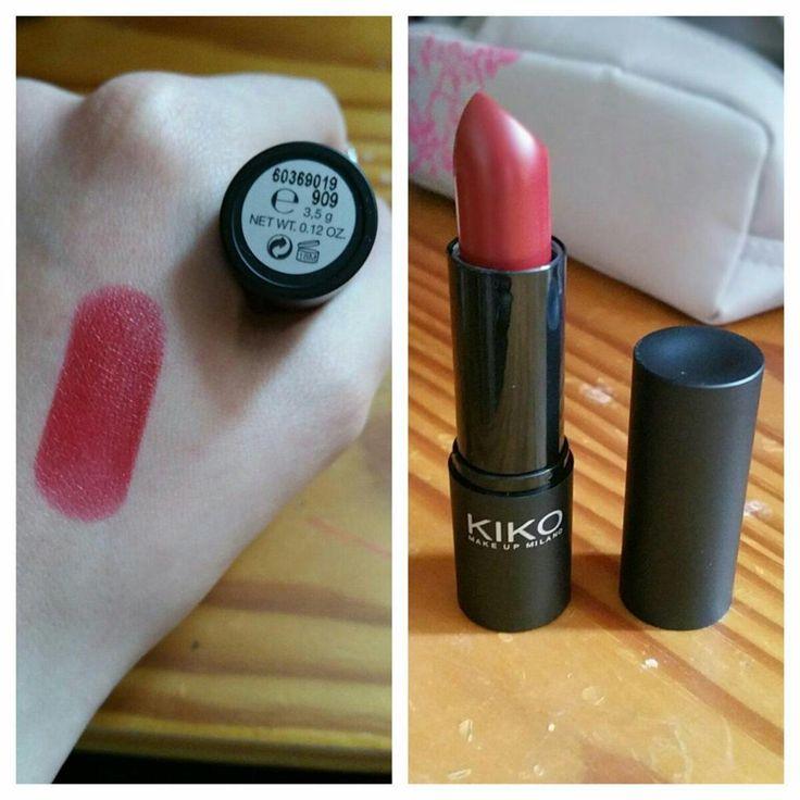 Kiko: Smart Lipstick - 909 Cherry Red