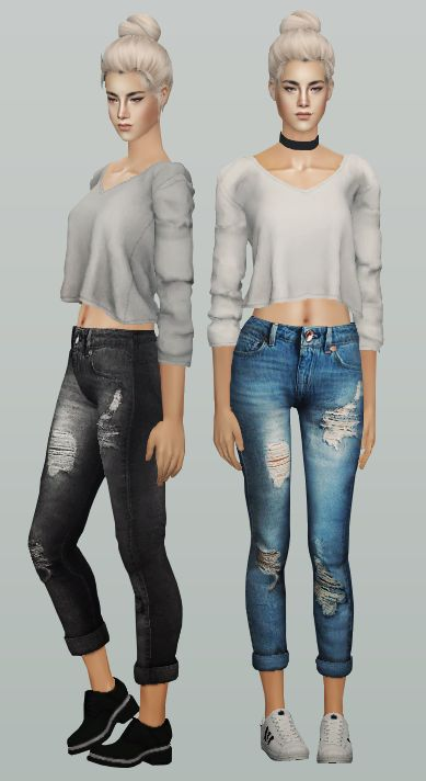 Always Sims Tumblr   e-neillan: ◉ The Sims 2 / AF Tracy Mid Top /...