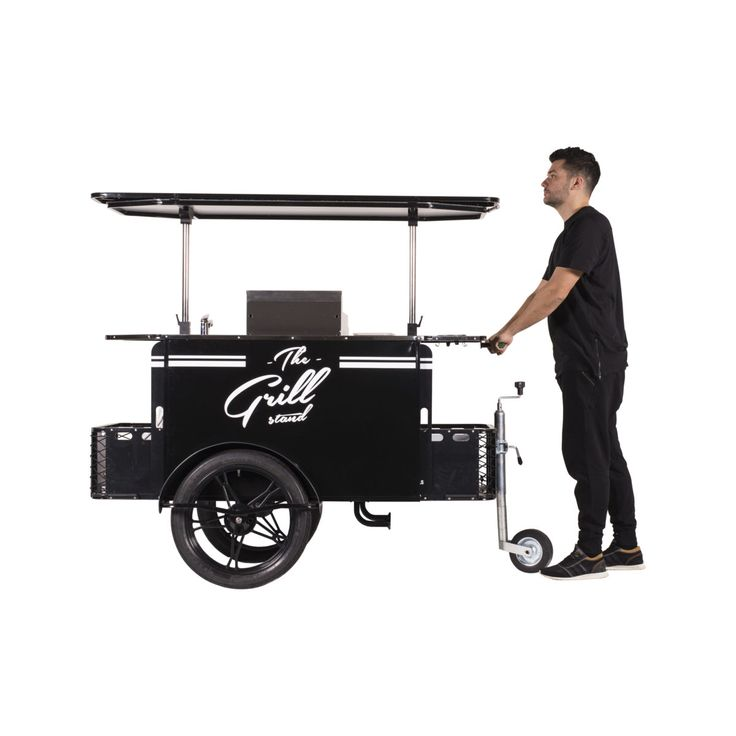 Grilled Food Vending Cart for street food vending.