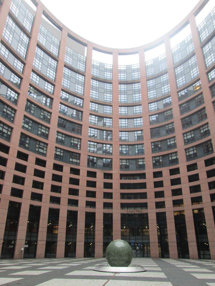 EU Parliament of Strasbourg