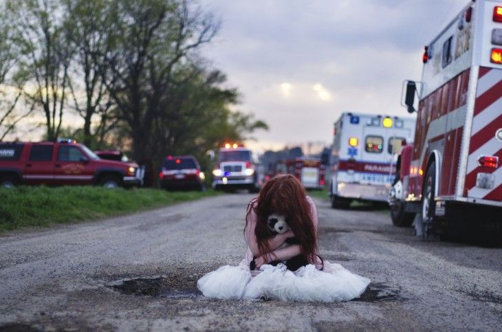 Photographer Sarah Hoey - self-portraits (3)