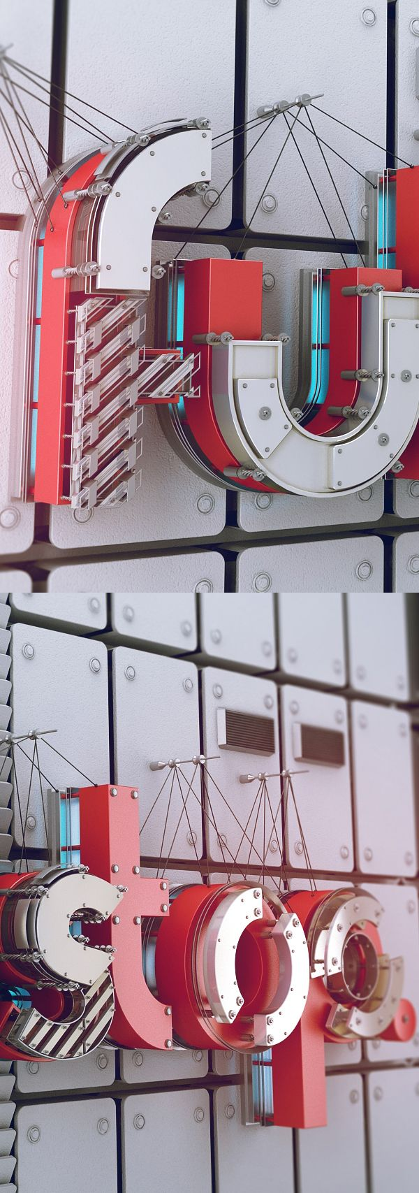 Fullstop on Wall on Behance