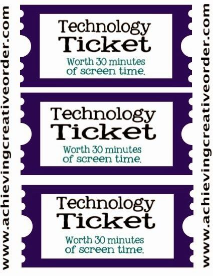 Technology Tickets 1