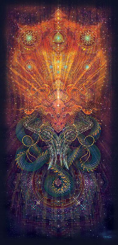Infinity Dragon by Ihti Andersen