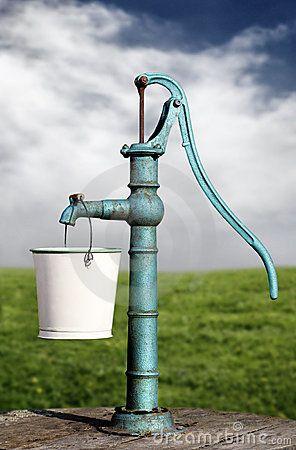 Water pump by Mikael Damkier, via Dreamstime