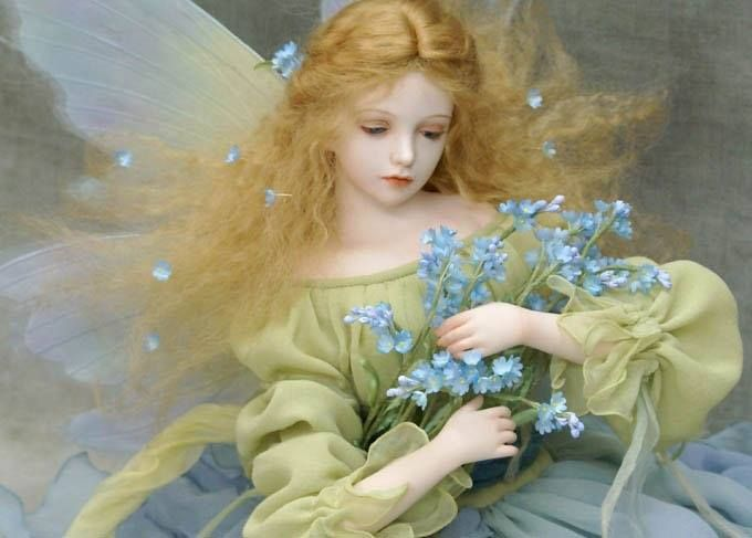 Forget Me not fairy | almost alive | Pinterest | Inspiration