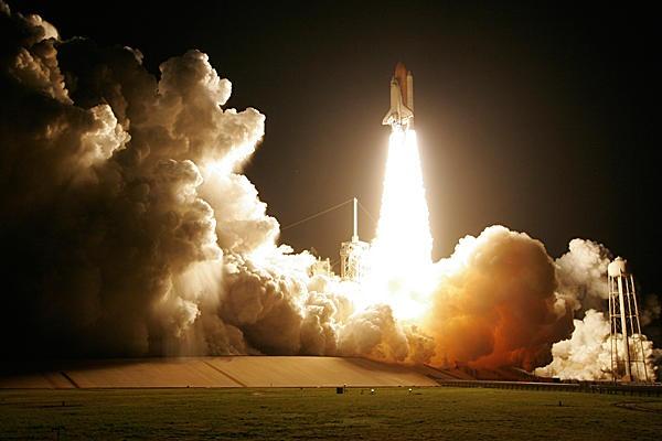 space shuttle launch houston - photo #10