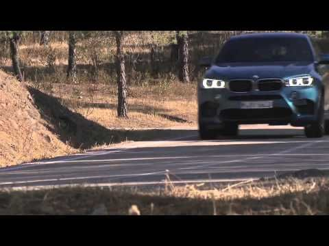 The new BMW X6 M Driving in the Country Trailer