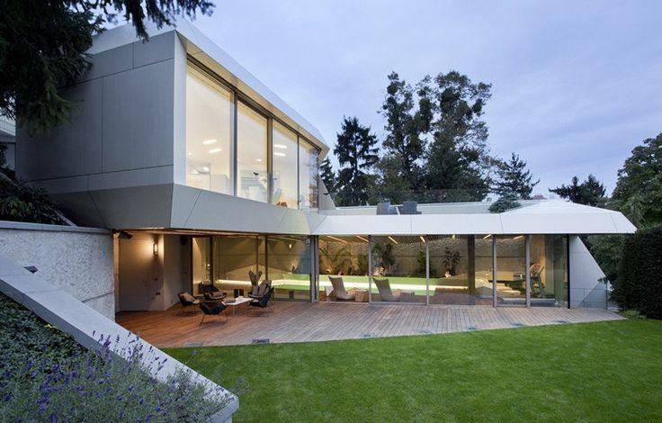 futuristische home Extension mit entspannenden und erholsamen Zweck