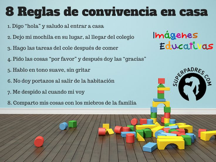 Las 8 reglas de convivencia en casa También estamos en  https://twitter.com/CanalLopezSAS , en  https://www.facebook.com/pages/Canal-López-SAS/1506791762881239 y en http://canallopezsas.blogspot.com.co/
