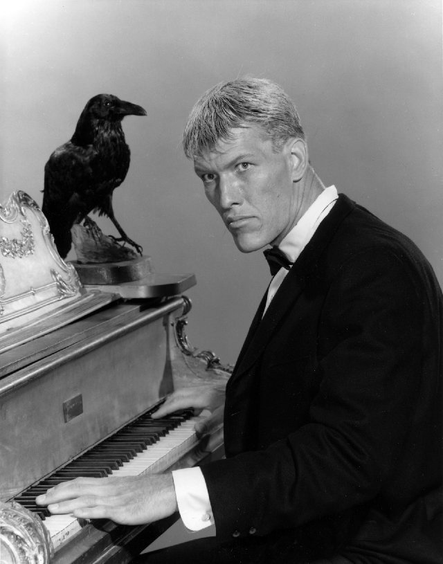 """Ted Cassidy (without make-up) aka 'Lurch' from """"The Addams Family"""""""