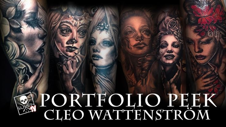 Portfolio Peek - Cleo Wattenström SullenTV and Painful Pleasures present - Portfolio Peek with tattoo artist Cleo Wattenström! #sullent   #sullen   #sullenclothing   #sullenartcollective   #tattoo   #tattoos   #tattooed   #art   #artist   #ink   #tattooartist   #artdriven   #realism   #realistic   #color   #blackandgrey   #portrait   #realistic   #machine   #clothing   #h2ocean   #eternal   #black   #grey   #painful   #pleasures   #opus   #waterloo   #stencil   #laink   #nyink   #maimiink…