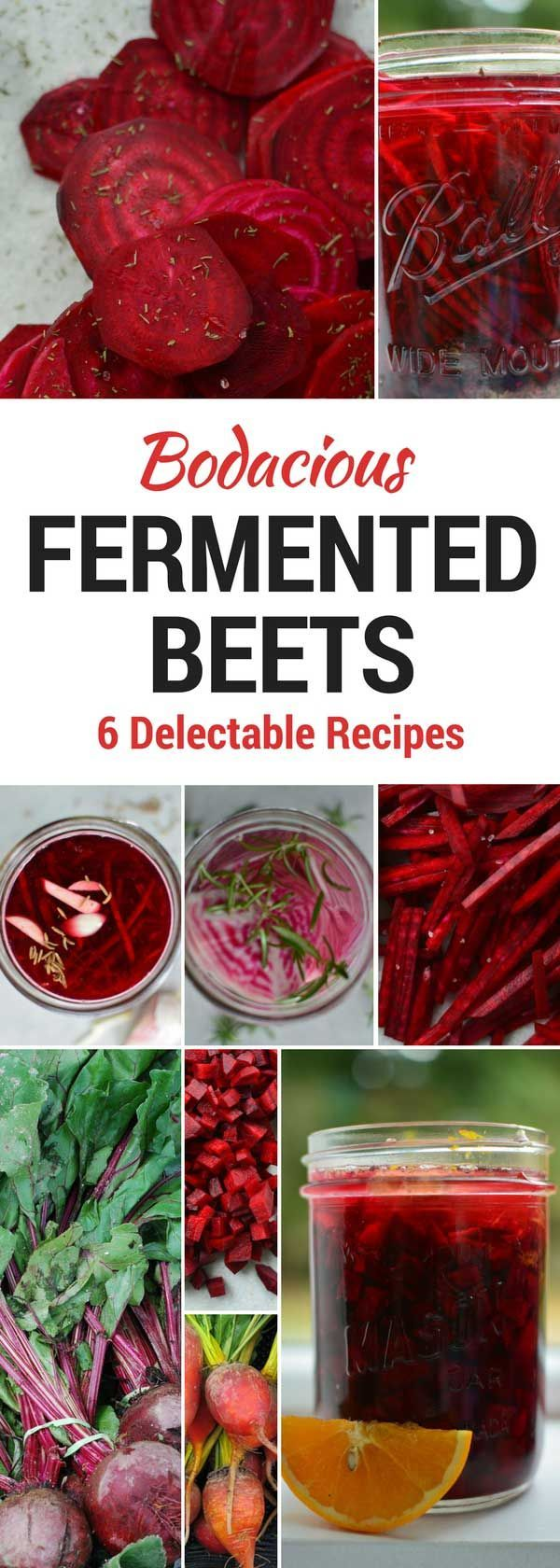 How to make naturally fermented beets in 6 delectable flavors. Easy to make. No vinegar. No canning. Tips & Tricks for successful fermentation. Benefits. via @makesauerkraut