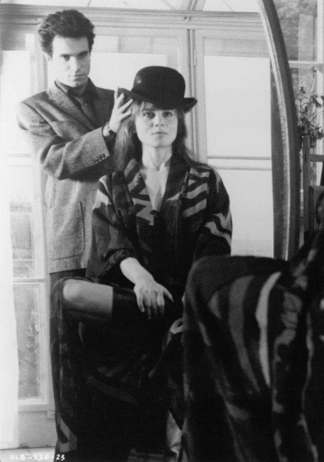 Still of Daniel Day-Lewis and Lena Olin in The Unbearable Lightness of Being