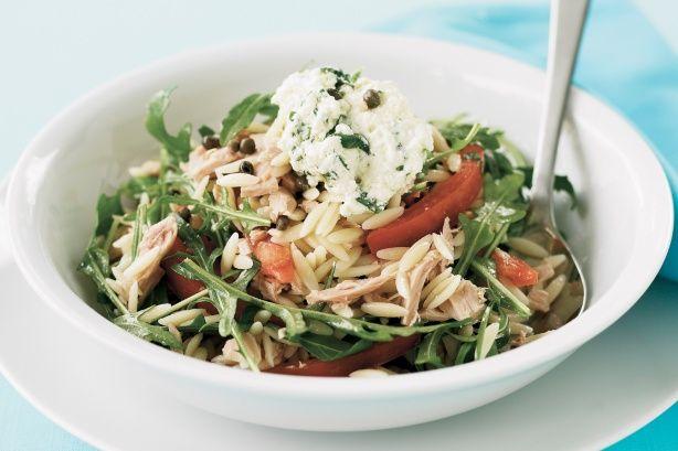Tuna & Risoni Salad