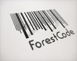 logo / forest code
