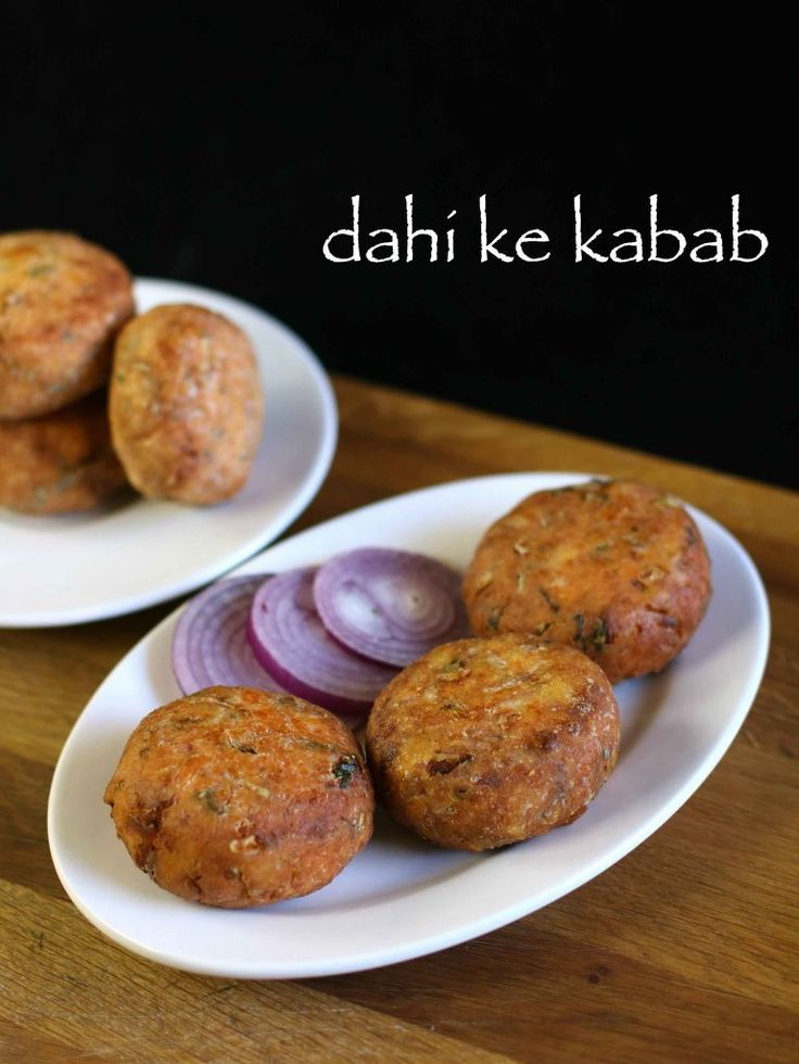 dahi ke kabab recipe, dahi kabab, dahi ke kebab recipe with step by step photo/video. popular deep fried rich patties from hung yogurt/curd & grated paneer.
