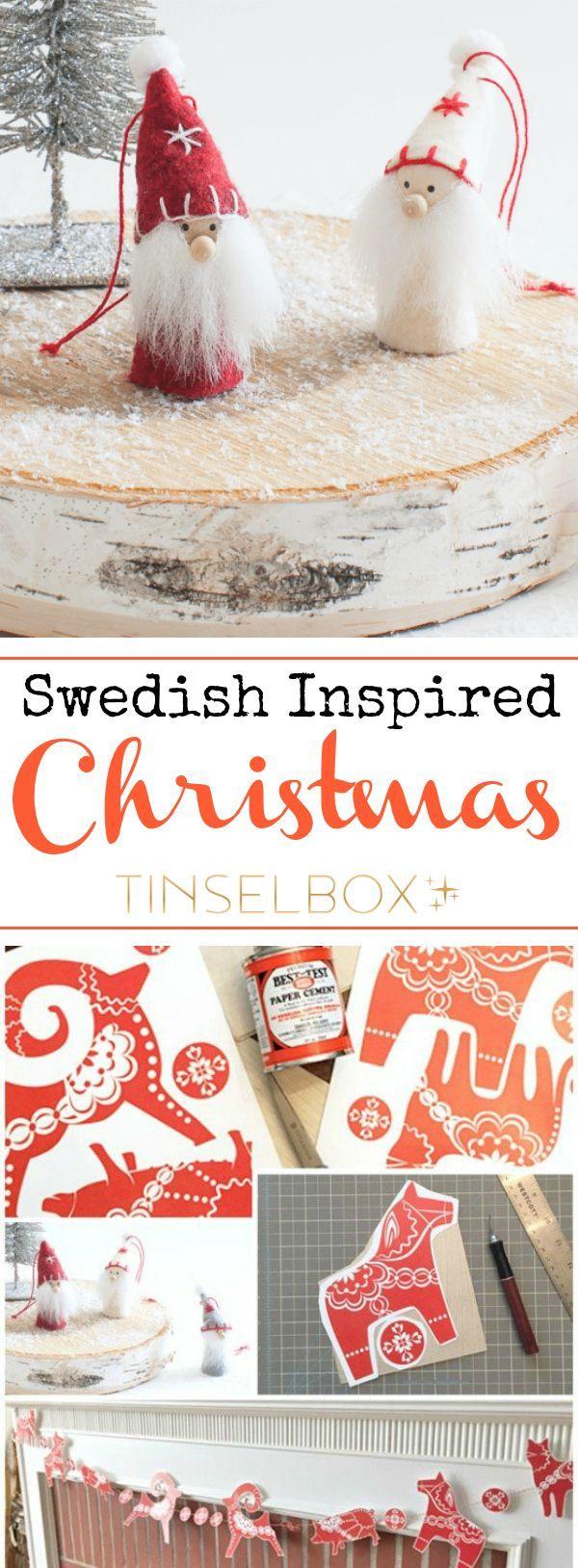 DIY Swedish Inspired Christmas
