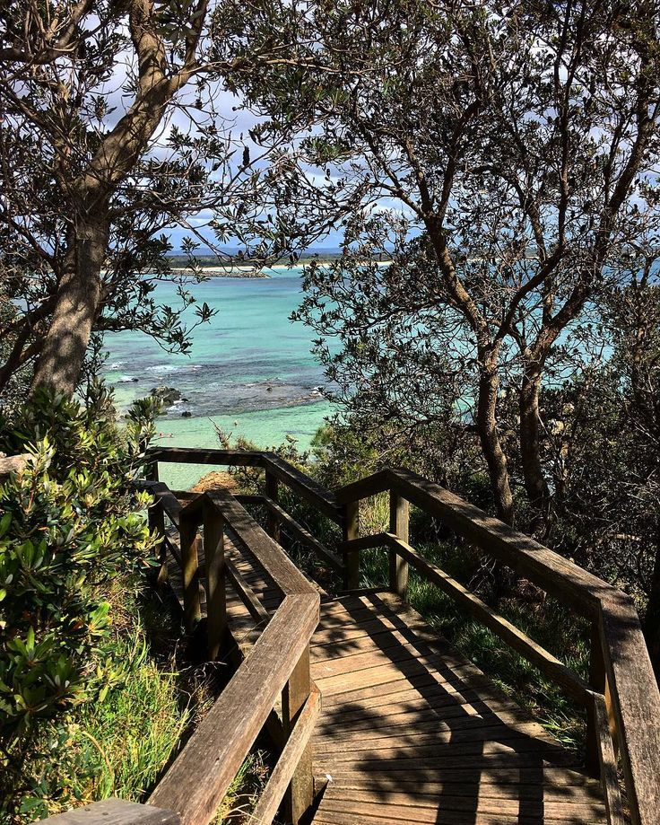 How pretty is this spot? Flagstaff Lookout at Port Macquarie on the NSW East Coast I loved the rock pools and surrounding beaches Tag someone who would love this spot!!