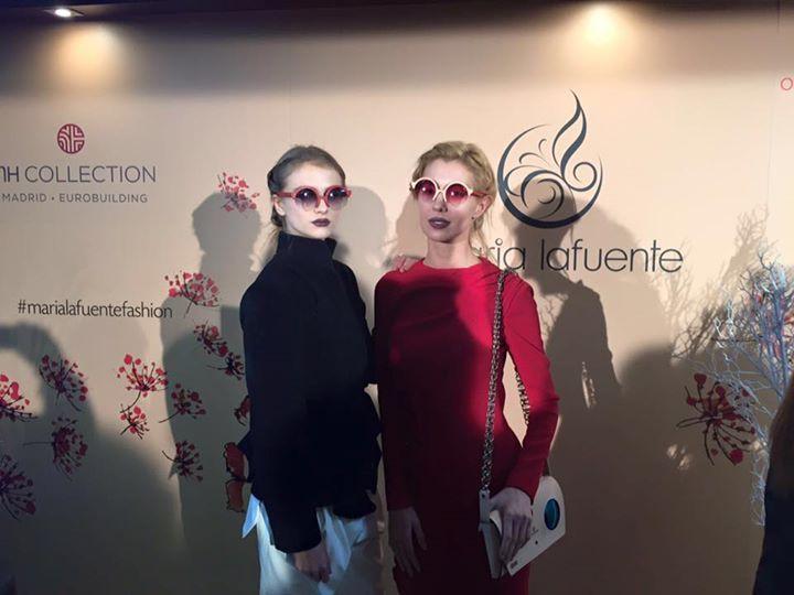 Aquí os dejamos las primeras instantáneas de la noche de ayer en el desfile de Maria Lafuente - Fashion Designer  en la #MBFWM16. Os iremos desvelando nuestros nuevos modelos de monturas y más detalles del espectacular desfile que ayer tuvo lugar en el Hotel NH Collection Madrid Eurobuilding a lo largo de esta semana. Gracias por estar ahí!